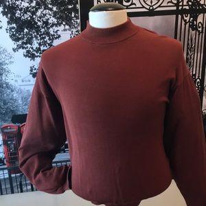 Mock nick sweater